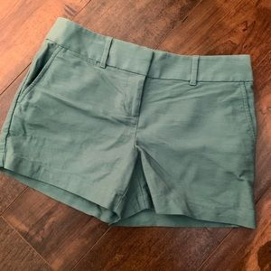 Like New - Loft Jade colored shorts